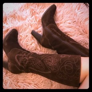 Vintage Inspired Penny Lane Heeled Boots